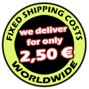 flat 2,50 Euro shipping charge per order - worldwide! Onlineshop-Asia