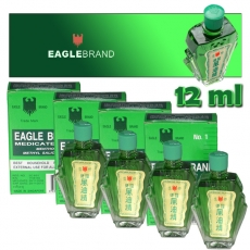 Special Offer: 4x Eagle Brand Oil / Green Oil - 12 ml (big)