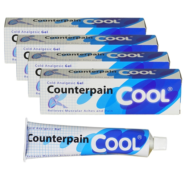 4x Counterpain Cool - Cold Analgesic Gel - 120 g - by Taisho