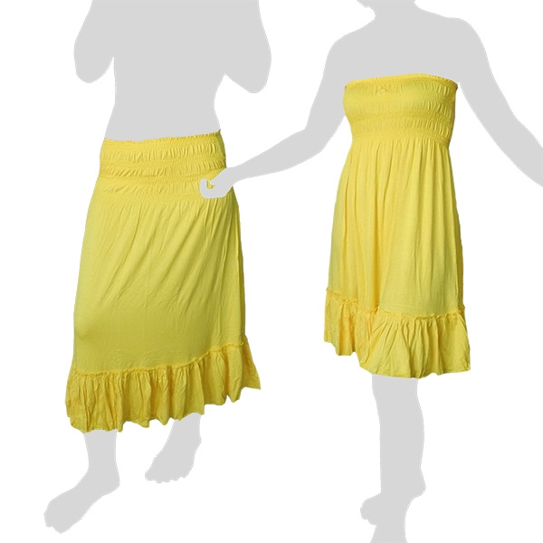 Sabaai Fabric - Skirt & Dress - Two in One - yellow
