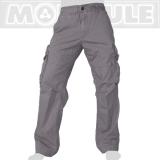 45.- € Molecule Modell 50005 in Grau. 4 der 8 Taschen sind mit Laschen und eisernen Knöpfen versehen, 2 weitere Taschen haben eine Zipper..
