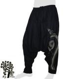 Big Tree - Thai Cotton Pants Baggy / Aladdin - black