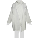 Faithai - Thai Cotton Poncho - Poncho-Jacket Longsleeves - cream-white