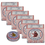 6x White Monkey Holding Peach Balm - 8 Gram - Special Offer