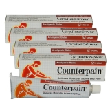 4x Counterpain (red) Analgesic Balm - 120 g - by Taisho