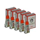 5x Siang Pure Oil - Formula II (white) - 3 ml