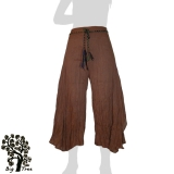 Big Tree - Ladies Thai Cotton Floating Pants - brown