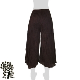 Big Tree - Ladies Thai Cotton Floating Pants - dark brown