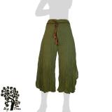 Big Tree - Ladies Thai Cotton Floating Pants - olive green