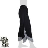 Big Tree - Ladies Thai Cotton Double Layer Floating Pants - black