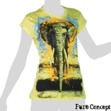 Pure Concept Lady Shirt - Elephant (yellow)