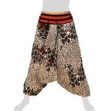 Hmong Aladdin Pants - Hilltribe Pants Naga - Boulders