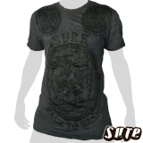 15.59 € wrinkle-fabric T-Shirt size L 100% cotton - One of the world`s most popular signs - Om - here imaged on a fancy mandala with a lilly in its center.