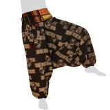 Hmong Aladdin Pants - Hilltribe Pants Naga - Maze Hedges