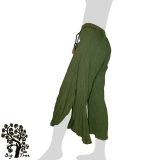 Big Tree - Ladies Thai Cotton Floating Pants - green