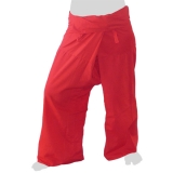 Thai Fisherman Pants - Light & Easy (red)