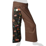 Fancy Thai Fisherman Pants - Flower Flakes