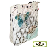 70sUp - Handbag Big Flat Shopper - polar