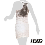 14,79 € Japanese Buddha in natural Invironment - Natural Inspiration - on a white wrinkle-fabric dress.
