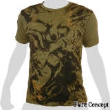 Pure Concept T-Shirt - Wild Fighter (olivgrün)