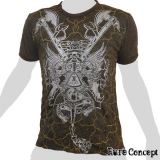 Pure Concept T-Shirt - Acid / Poison Scorpion (anthracite)