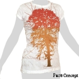 Pure Concept Lady Shirt - Tree of Life (white)