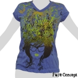 Pure Concept Lady Shirt - Hair Fantasy (blue)