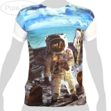 Pure Plus T-Shirt - Astronaut Beach Beer