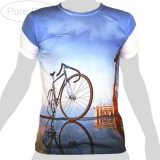 Pure Plus T-Shirt - Racing Cycle Seaside