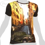 Pure Plus T-Shirt - Stone Brick Car