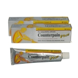 2x Counterpain Plus (yellow) Analgesic Balm - 50 g - by Taisho