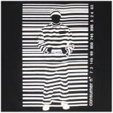 14,99 € Black and white striped prisoner in front of a barcode. Good quality image print on 100% cotton T-shirt made in Thailand by Rocky