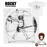 Rocky T-Shirt - Rockin`Vitruvius / Da Vinci (white)