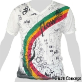 Pure Concept T-Shirt - Rainbow Fantasy (white)