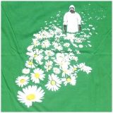 14,99 € Rocky T-Shirt - Caoution: Nature - man walks through a field of flowers with an radiation protection suit! Good quality image print on 100% cotton