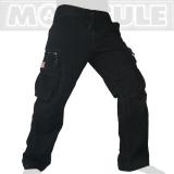 45.- € Modell 50005 in Kohlenschwarz. 4 der 8 Taschen sind mit Laschen und eisernen Knöpfen versehen, 2 weitere Taschen haben einen Zipper...