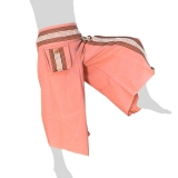 Ladies Hmong Pants Rectangles Winged - light pink