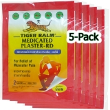 Tiger Balm - 5x Warming Plaster - Special Offer