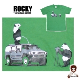 14,99 € T-Shirt by Rocky - Panda Bear Safari Fun - funny Safari - good quality image print on 100% cotton T-shirt made in Thailand by Rocky