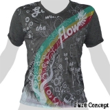 Pure Concept T-Shirt - Rainbow Fantasy (anthracite)