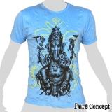 Pure Concept T-Shirt - Beautiful Ganesha (light blue)