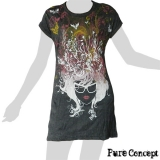 Pure Concept Tank-Dress - Hair Fantasy (anthracite)