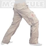 45.- € Molecule Modell 50005 in Khaki/Creme. 4 der 8 Taschen sind mit Laschen und eisernen Knöpfen versehen, 2 weitere Taschen haben einen Zipper...