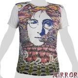 Mirror T-Shirt - John Lennon (white) M / L