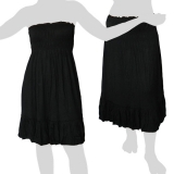 Sabaai Fabric - Skirt & Dress - Two in One - black