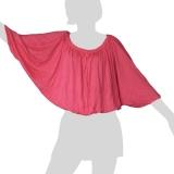 Sabaai Fabric - Wing-Sleeve Top - pink