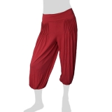 Sabaai Fabric - Calf-Length Pants - red