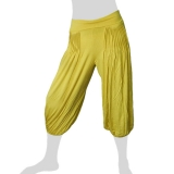 Sabaai Fabric - Calf-Length Pants - yellow