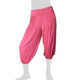 Sabaai Fabric - Calf-Length Pants - pink